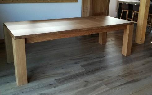 La v ritable table en bois massif - Table en palissandre massif ...