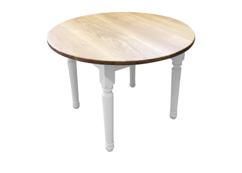 Table-allonges CLASSIC-chic-bois-de-chene-massif-blanche7