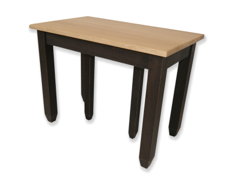 Table console - BOHEME Extensible allonges - bois de chène massif