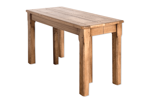 Table console - MARGOT Extensible allonges - bois de chène massif